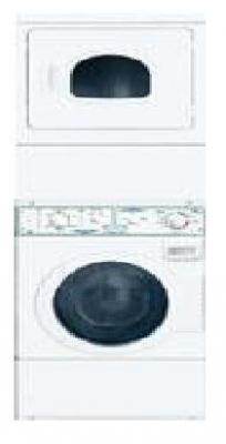 SpeedQueen LTSA7AWN3000 Commercial Homestyle Heavy Duty Stack Washer & Dryer 230 Volt/ 50 Hz,