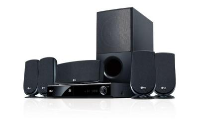 LG LHB306 5.1 Channel Blu-ray Home Theater System 1080p FACTORY REFURBISHED (FOR USA )