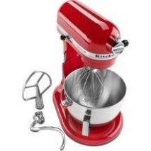 KitchenAid KG25HOXMC/ER Professional HD Stand Mixer - Red 110 VOLTS