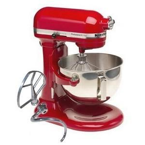 Kitchenaid Kg25hoxer Pro Stand Mixer Empire Red 110 Volts