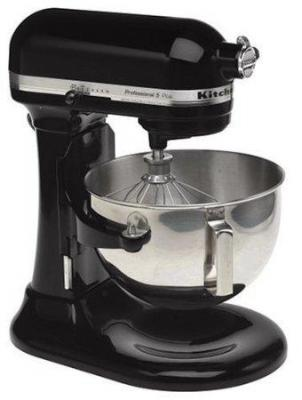 KitchenAid KG25HOXOB Professional HD Series 5-Quart Stand Mixer Onyx Black 110 VOLTS