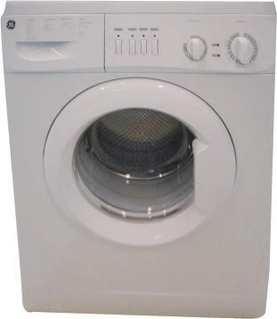 GE GEWD14E8EP White Washer Dryer Combo 220-240 Volt 50 Hertz