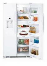GE GSE22KEWF WW White Color SIDE BY SIDE REFRIGERATOR FOR 220/240 VOLTS
