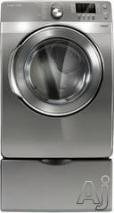 Samsung DV448AEPXAA 7.4 cu. ft. Capacity Steam Stainless Platinum FACTORY REFURBISHED FOR USA