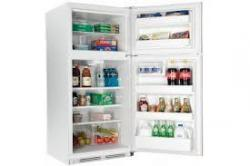 HAIER  HT18TS45SW 18.2 Cu. Ft. Frost-Free Top Freezer Refrigerator FACTORY REFURBISHED FOR USA