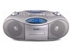 Sanyo MCDUB685M Boom Box with SD Card and USB 220-240 volts 50 Hertz
