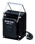SevenStar THG100 Input Standard type Step up & down transformer Volt AC 110-220