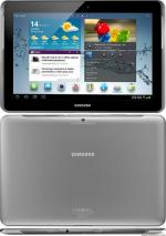 SAMSUNG P5100 3G 16GB GALAXY TAB 2 10.1 GSM UNLOCKED ANDROID TABLET: silver