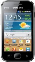 Samsung S6802 Galaxy Ace Duos Dual SIM Quadband Unlocked GSM Phone (SIM Free): black