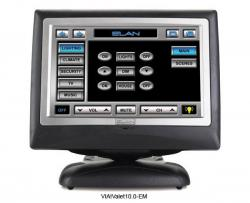 Elan VIAVALET100EM Tabletop/Under-Cabinet Touch Panel 110 VOLTS FOR USA USE ONLY