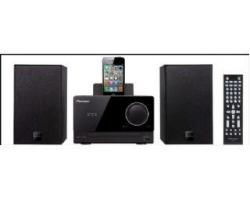 PIONEER XCM51V MICRO DVD/CD HIFI SYSTEM WITH IPOD/IPHONE/IPAD DOCK FOR 110-240 VOLTS