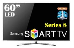 Samsung UA60D8000 60 Inch Full HD 3D Smart LED Multisystem 110-220 Volts
