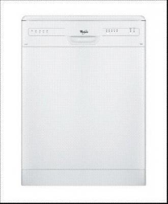 Whirlpool ADP2300WH WW Free Standing Dishwasher 220-230Volt 50Hz