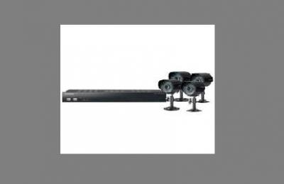 Samsung SDE4003N 8ch Security Camera System 110 - 240 Volts