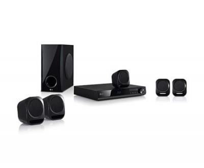 LG BH4120S HTIB, 5.1 Satellite Speakers Blu-Ray Disc, 330W, 2D BD PLAYER, HDMI OUT, USB for 110 Volts in USA use ONLY