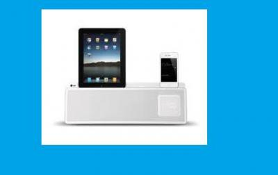 LG ND5520 iPod and Android Docking Station for 110 Volts in USA use ONLY