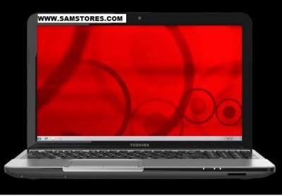 TOSHIBA L855D-S5220 AMD QUAD-CORE RADEON, 6GB, 15.6  inchWINDOWS 7