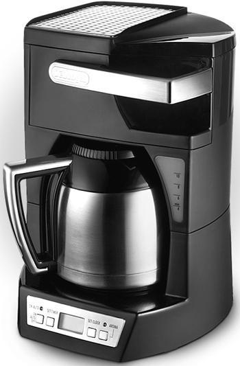 DeLonghi DEICM40T 10 Cups Drip Coffee Maker for 220-240 Volt/ 50-60 Hz 220 Volts Appli