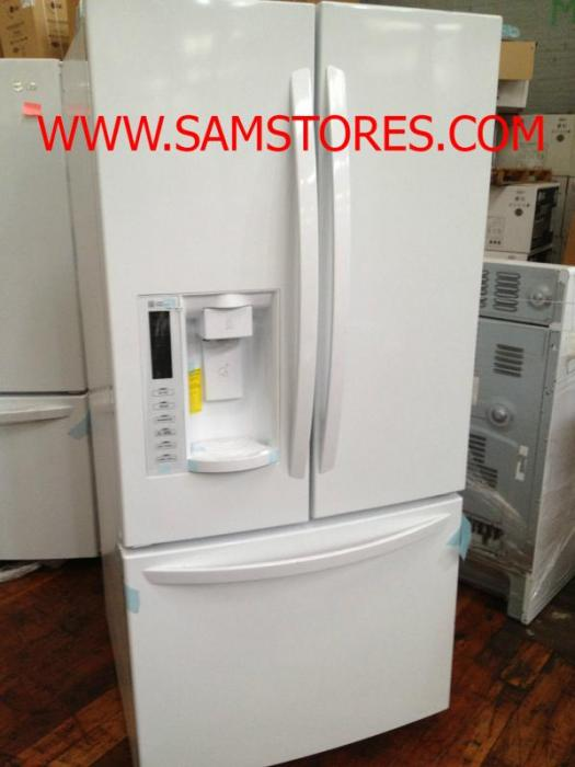 Lg Lfx25978sw 250 Cu Ft French Door Refrigerator Smooth White