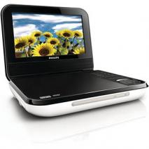 Philips PD700 7 Inch Code Free Portable DVD Player FOR 110-220 VOLTS