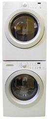 Frigidaire MFW126BZKS/ MDE676NZHS/ STACKKIT Stack Washer & Dryer 220-240 Volt/ 60 Hz