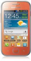 Samsung S6802 Galaxy Ace Duos Dual SIM Quadband Unlocked GSM Phone (SIM Free): orange