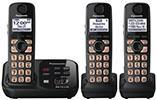 Panasonic KXTG4733 NEW! Expandable Digital Cordless Answering System with 3 Handsets 220 Volt/ 50 Hz