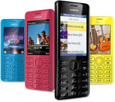 NOKIA 206 Dual Sim Dual-band Unlocked GSM phone