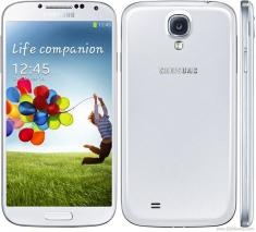 SAMSUNG I9500 GALAXY S4 16GB QUADBAND UNLOCKED GSM PHONE (White Frost)