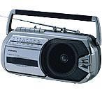 AIWA RM77  Mono Radio Cassette Recorder for 110-220 volts 50/60hz