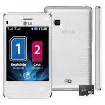 LG T375 Cookie Smart Dual Sim WIFI Unlocked Quadband Phone ( White)