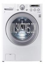 LG WM2250CW 3.6 cu. ft. Front Load Washer 6 Motion Technology, White FACTORY REFURBISHED (FOR USA)