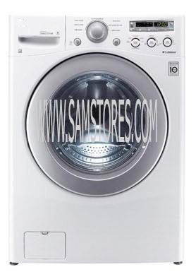 Lg Wm2250cw 3 6 Cu Ft Front Load Washer 6 Motion