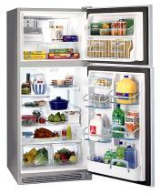 220 Volt Frigidaire GLTP20V9MS 18.2 Cu. Ft. Stainless Top Mount Refrigerator
