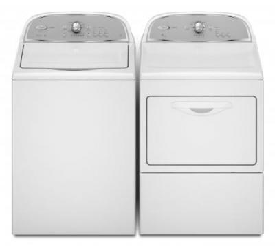 Whirlpool WED5500YW Dryer & WTW5550YW  WASHER NEW Cabrio High Efficiency 220-230 VOLT / 50 HERTZ Laundry Packages