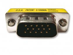 Kramer AD-D9M/D9M 10pcs 9-pin D (M-M) Gender Changer 110 Volts Only for USA