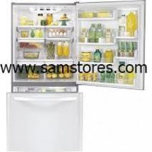 LG LDC22720SW 22.4 Cu.Ft. Bottom Freezer Refrigerator, White FACTORY REFURBISHED (FOR USA)