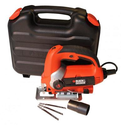 Black & Decker KS900EK 600 W Jigsaw with Sightline Variable Speed and Kit Box 220 VOLTS