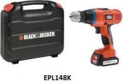 BLACK & DECKER EPL148K 14.4V CORDLESS HAMMER DRILL 220 VOLTS