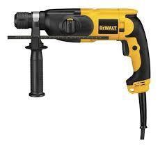 DEWALT D25012K 7-8 inch Compact SDS Rotary Hammer Kit 220 VOLTS