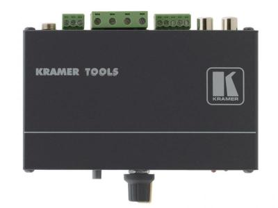 Kramer 912 Stereo Audio Power Amplifier 8.4 Watts per Channel 110 Volts Only for use in USA