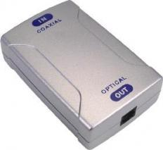 AV Tool POF-830 Optical Toslink to S/PDIF Coaxial Digital Audio Converter 110 Volts Only for use in USA