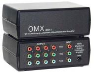Shinybow ANI-1X2COMPDA 1x2 Component Video(RCA) Splitter Distribution Amplifier With Digital Coaxial/Optical Audio 110 Volts use Only for USA