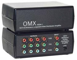 Ocean Matrix HDDA-1 1x4 HDTV Wideband Analog Distribution Amplifier  110 Volts use Only for USA