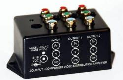 Ocean Matrix HDDA-2 HDTV 1x2 YPbPr Component Video Distribution Amplifier  110 Volts use Only for USA