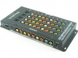 Shinybow SB-3750 1:5 SHINYBOW COMPONENT/COMPOSITE/S-VIDEO/AUDIO AMPLIFIER SPLITTER 110 Volts use Only for USA