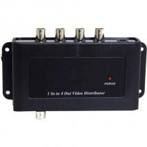 Ocean Matrix DEF-1X4DA 1x4 Video Distribution Amplifier with BNC Connectors 110 Volts Only for use in USA