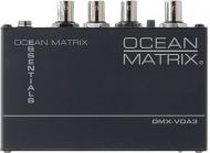 Ocean Matrix OMX-7023 1x5 Video and Audio Distribution Amplifier 110 Volts Only for use in USA