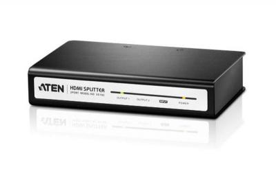 Aten VS182 2 Port High Definition Digital video/audio video splitter 110 Volts Only for use in USA