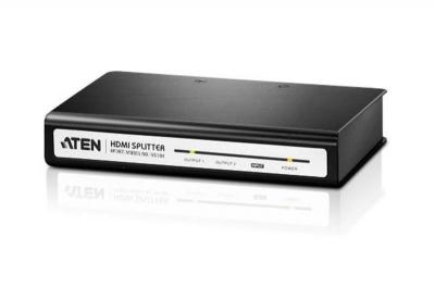 Aten VS184 4 Port High Definition Digital video/audio video splitter 110 Volts Only for use in USA